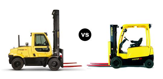 Fork Truck vs Forklift