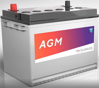 Absorbed Glass Mat (AGM) batteries