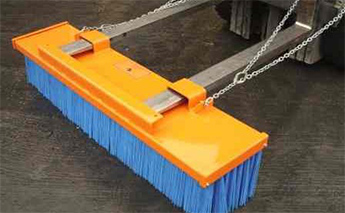 Forklift Sweeper Attachments